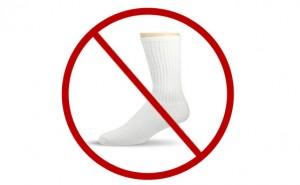 Avoid White Socks