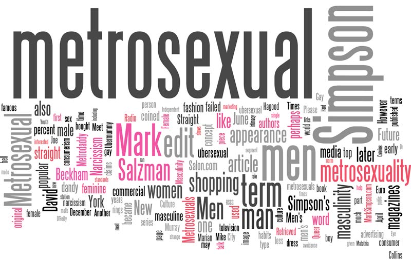 What is the meaning of metrosexual