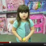 Little girl goes on rant about pink toys