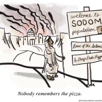 Nobody Remembers the Pizza Comic