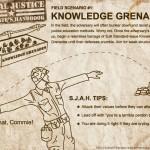 """Knowledge Grenades"" Comic"