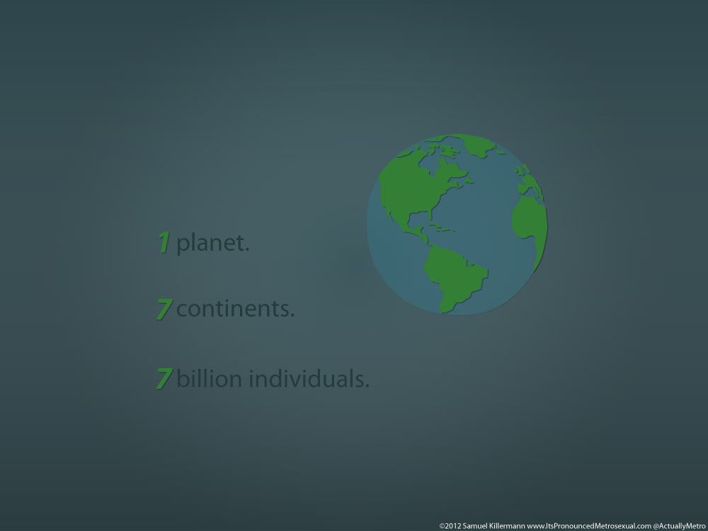 """One Planet"""