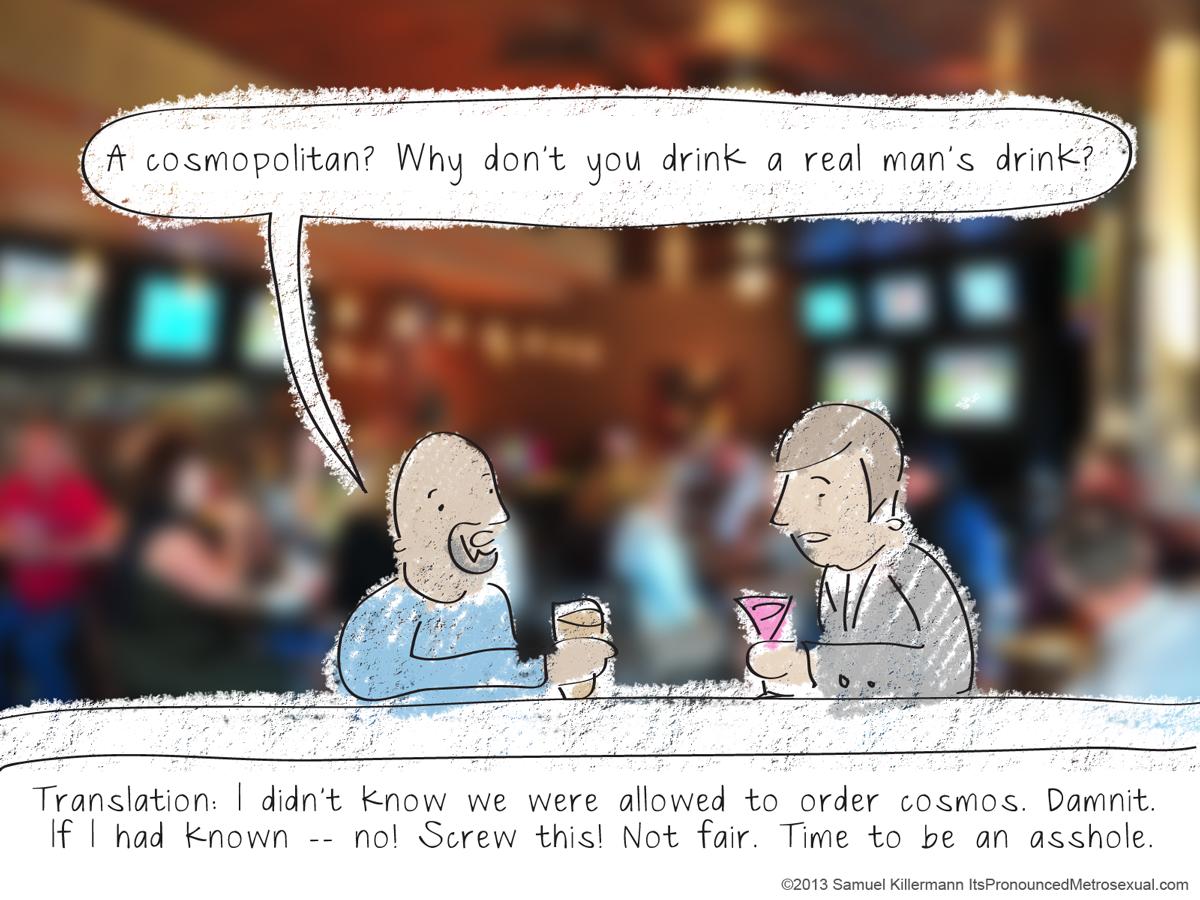 man-drink