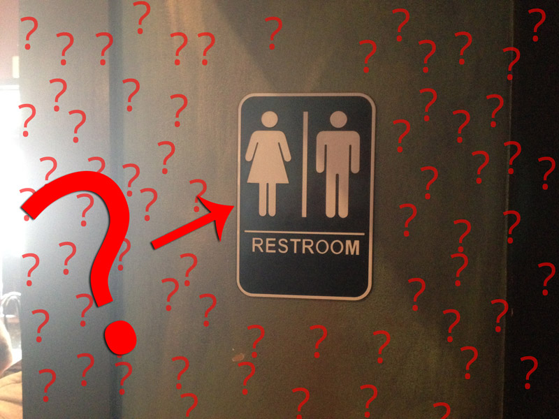 Solution For The Quot Confusing Quot Gender Neutral Toilet Sign
