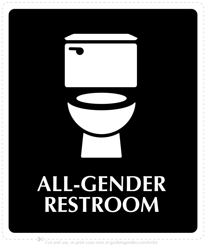 Bathroom sign sex